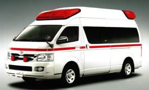 トヨタ救急車